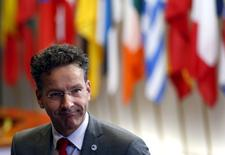Presidente do Eurogrupo, Jeroen Dijsselbloem, durante cúpula em Bruxelas.  07/07/2015   REUTERS/Francois Lenoir