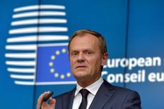 Presidente do Conselho Europeu, Donald Tusk. 26/06/2015 REUTERS/Eric Vidal