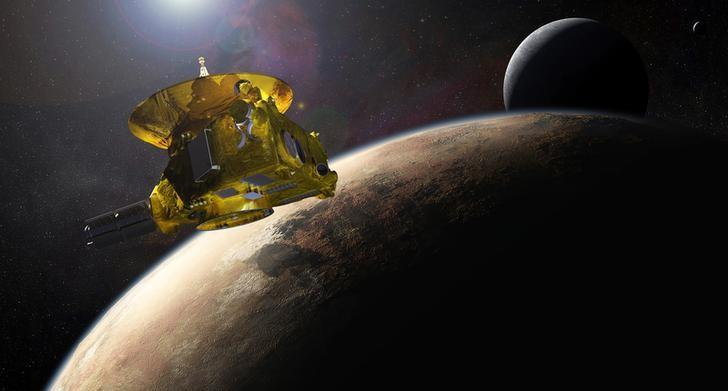 Distant Pluto finally gets its day in the sun