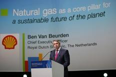CEO da Shell, van Beurden, durante conferência mundial de gás natural em Paris. 02/06/2015 REUTERS/Benoit Tessier