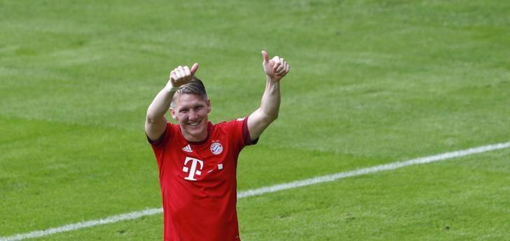 Centrocampista alemán Schweinsteiger deja el Bayern Munich por el Manchester United