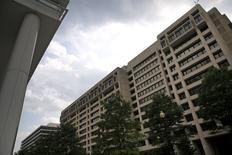 Sede do Fundo Monetário Internacional, em Washington.  01/07/2015   REUTERS/Jonathan Ernst