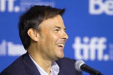 Diretor François Ozon concede entrevista no Festival de Toronto.  6/9/2014.    REUTERS/Fred Thornhill