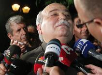 Ministro do Interior grego, Nikos Voutsis, em Atenas. 05/07/2015 REUTERS/Christian Hartmann