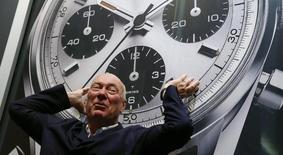 Jean-Claude Biver, presidente da divisão de relógios da empresa LVMH. 16/12/2014 REUTERS/Arnd Wiegmann