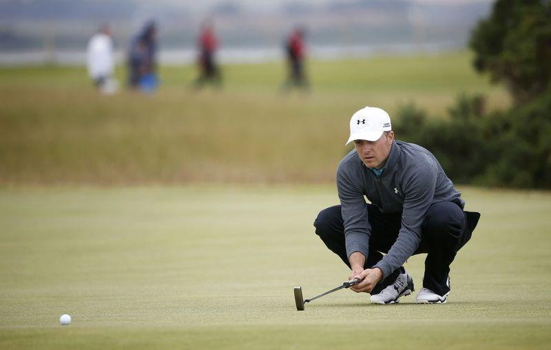Spieth makes his move, Dunne steals Open limelight