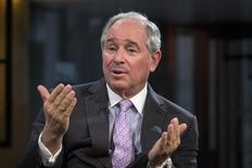 Stephen A. Schwarzman, Chairman and Chief Executive Officer of The Blackstone Group,  in New York February 27, 2014.  REUTERS/Brendan McDermid