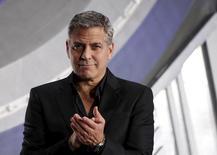 George Clooney participa de evento em Tóquio.  25/5/2015.   REUTERS/Toru Hanai