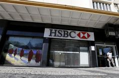 Filial do banco HSBC no Rio de Janeiro.    09/06/2015    REUTERS/Sergio Moraes