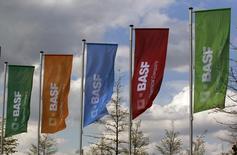 BASF va mettre en place des entités juridiques séparées pour son segment pigments et va étudier toutes les possibilités, y compris une vente, pour des opérations qui pâtissent des surcapacités du secteur. /Photo d'archives/REUTERS/Ina Fassbender