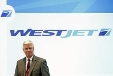 WestJet CEO Gregg Saretsky  in Toronto, May 6, 2014.    REUTERS/Mark Blinch