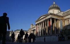 Galeria Nacional de Londres, na Trafalgar Square. 27/02/2015  REUTERS/Eddie Keogh