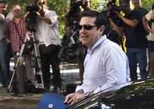 Premiê turco, Alexis Tsipras, em Atenas. 27/07/2015 REUTERS/Ronen Zvulun