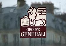 L'assureur italien Generali a annoncé jeudi une hausse de 16% de son bénéfice d'exploitation au deuxième trimestre, grâce à la croissance solide de son activité d'assurance-vie, provoquant une nette hausse de l'action  /Photo d'archives/REUTERS