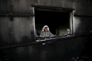 Arson attack kills Palestinian toddler