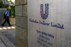 A man arrives at the Hindustan Unilever Limited (HUL) headquarters in Mumbai May 14, 2013. REUTERS/Danish Siddiqui