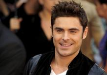 "Actor Zac Efron arrives for the European film premiere of ""We Are Your Friends"" at the Brixton Oval in London, Britain August 11, 2015. REUTERS/Luke MacGregor"