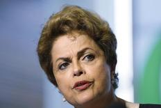 Presidente Dilma Rousseff durante visita ao Google em Mountain View.  1/7/2015. REUTERS/Stephen Lam