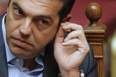 Premiê grego, Alexis Tsipras, em Atenas. 14/8/2015 REUTERS/Christian Hartmann