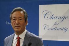 Ex-vice-presidente da Fifa Chung Mong-joon em Paris, França 17/8/2015  REUTERS/Pascal Rossignol