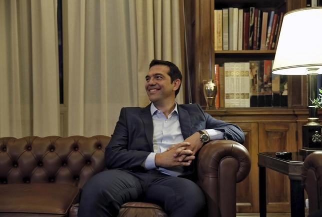 Greek Prime Minister Alexis Tsipras in Athens, August 20, 2015.   REUTERS/Alkis Konstantinidis