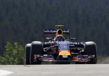 Red Bull Racing driver Daniil Kvyat of Russia drives during a free practice session ahead of the weekend's Belgian F1 Grand Prix in Spa-Francorchamps, Belgium, August 21, 2015. REUTERS/Yves Herman