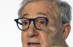Diretor Woody Allen concede entrevista em Cannes.  15/5/2015.      REUTERS/Regis Duvignau
