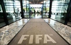 Entrada da sede da Fifa em Zurique.  20/7/2015.  REUTERS/Arnd Wiegmann