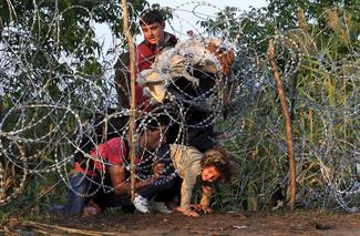 Scrambling to Europe