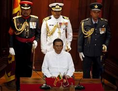 Sri Lanka\'s Sirisena promises new era of clean government
