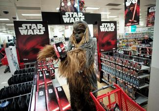Fan frenzy for Star Wars toys