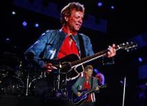 Cantor norte-americano Jon Bon Jovi em show no Rock in Rio em 2013. 20/09/2013 REUTERS/Pilar Olivares