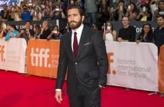"Actor Jake Gyllenhaal arrives on the red carpet for the film ""Demolition"" during the 40th Toronto International Film Festival in Toronto, Canada, September 10, 2015. TIFF runs from September 10-20.   REUTERS/Mark Blinch"
