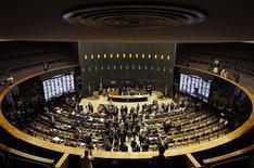 Vista geral do Plenário da Câmara dos Deputados em Brasília. 03/12/2014 REUTERS/Ueslei Marcelino
