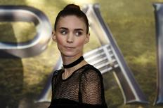 "Actress Rooney Mara arrives for the world premiere of ""Pan"" at Leicester Square in London, Britain September 20, 2015. REUTERS/Luke MacGregor"