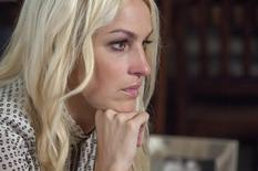 Sandy Hook teacher Kaitlin Roig-DeBellis is pictured during an interview in her home in Greenwich, Connecticut December 4, 2013. REUTERS/Michelle McLoughlin