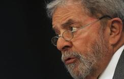 Ex-presidente Luis Inácio Lula da Silva durante evento em São Paulo.  03/07/2014   REUTERS/Nacho Doce