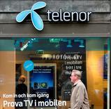 L'opérateur télécoms norvégien Telenor a décidé de mettre en vente ses 33% dans le russe Vimpelcom, une participation actuellement valorisée quelque 2,3 milliards de dollars (2,0 milliards d'euros). /Photo d'archives/REUTERS/Bob Strong