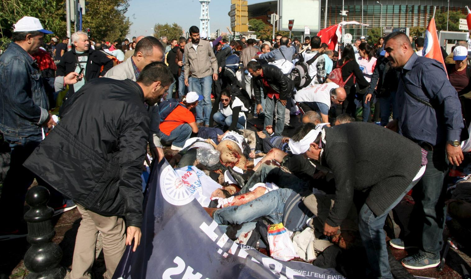 وزارة الداخلية:30 قتيلا و126 مصابا في هجوم أنقرة