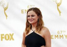 Actress Amy Poehler arrives at the 67th Primetime Emmy Awards in Los Angeles, California September 20, 2015.  REUTERS/Mario Anzuoni