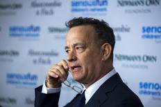 Ator Tom Hanks participa de evento em Nova York, nos Estados Unidos. 02/03/2015 REUTERS/Lucas Jackson