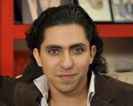 Saudi blogger Raif Badawi is seen in an undated portrait provided by Amnesty International. Badawi, who has been sentenced to 1,000 lashes and 10 years in jail for insulting Islam and for cyber crime, was awarded the European Union's Sakharov prize for human rights and freedom of thought on October 29, 2015.  REUTERS/Amnesty International/Handout