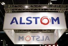 Alstom va lancer une offre publique de rachat de ses propres actions d'un montant de 3,2 milliards d'euros afin de redistribuer comme prévu à ses actionnaires une partie du produit de la cession de ses activités énergie à General Electric. /Photo d'archives/REUTERS/Benoit Tessier