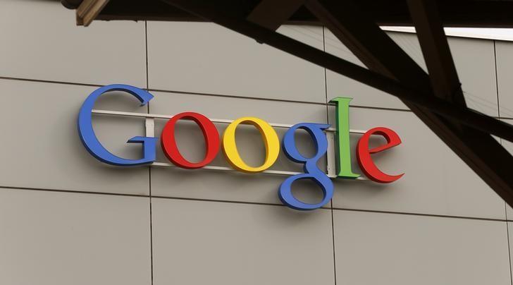 A logo is pictured at Google's European Engineering Center in Zurich April 16, 2015. REUTERS/Arnd Wiegmann/Files