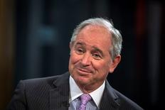 Stephen A. Schwarzman, Chairman and Chief Executive Officer of The Blackstone Group in New York February 27, 2014.  REUTERS/Brendan McDermid