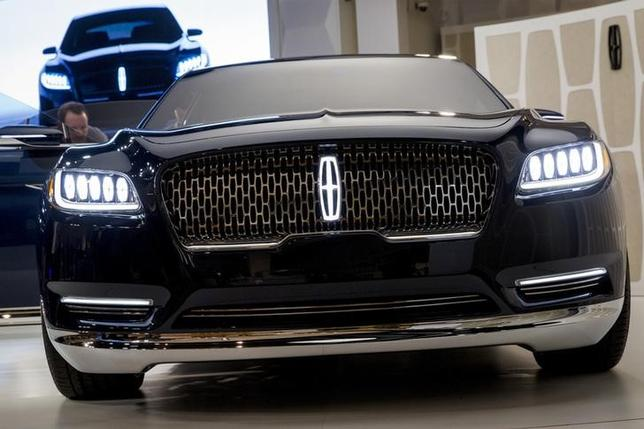 Ford 39 S Lincoln Brand Debuts New Face For Its Best Selling