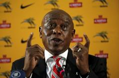 South African businessman and former political prisoner Tokyo Sexwale speaks during a media briefing at the SAFA house in Johannesburg, South Africa, in this October 27, 2015 file photo. REUTERS/Siphiwe Sibeko/Files