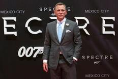 """Daniel Craig durante evento do novo filme da franquia 007, """"007 Contra Spectre"""", na Cidade do México.   03/11/2015   REUTERS/Ginnette Riquelme"""