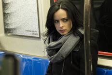 """Krysten Ritter stars in Netflix's """"Jessica Jones"""". REUTERS/Netflix/Myles Aronowitz/Handout"""