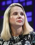 Marissa Mayer, presidente-executiva do  Yahoo, participa de um painel de discussões no Fortune Global Forum 2015 em San Francisco, Califórnia. 3/11/2015. REUTERS/Elijah Nouvelage